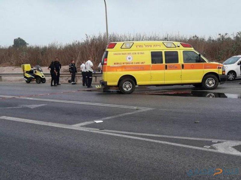 مصرع إمرأة وإنقاذ جنينها بحادث سير في أراضي 48