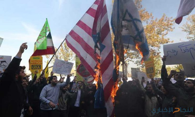 مظاهرات مناهضة لواشنطن في طهران