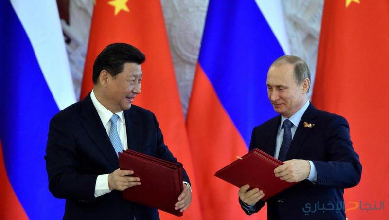 100 مليار $حجم التجارة بين روسيا والصين في 2018