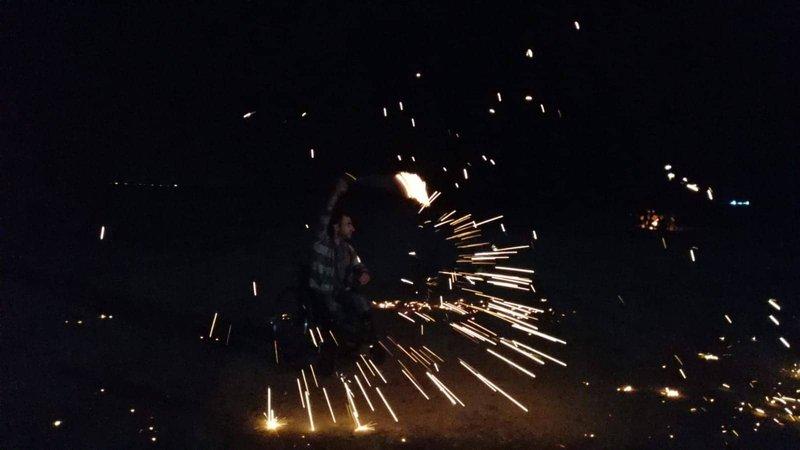 اصابات بينها حرجة خلال فعاليات الارباك الليلي شرق غزة