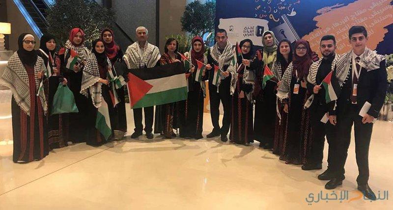 الحمدالله يبارك فوز مدرسة بنات العودة من بيت لحم