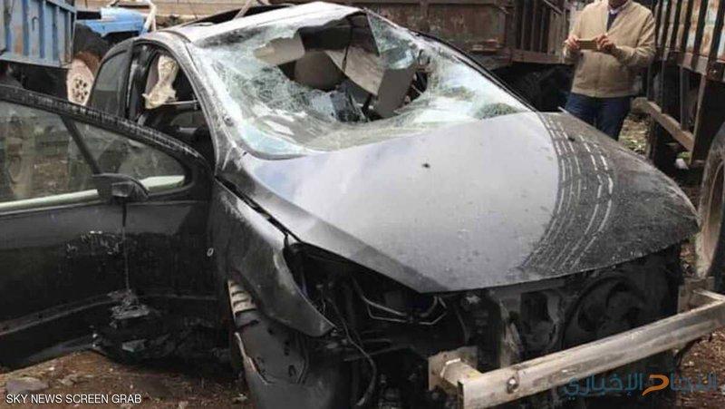 فنان سوري ينجو من موت محقق بعد حادث مروع