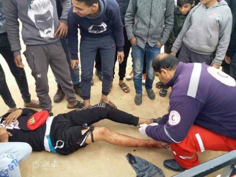 إصابة 3 شبان برصاص الاحتلال شرق مخيم البريج