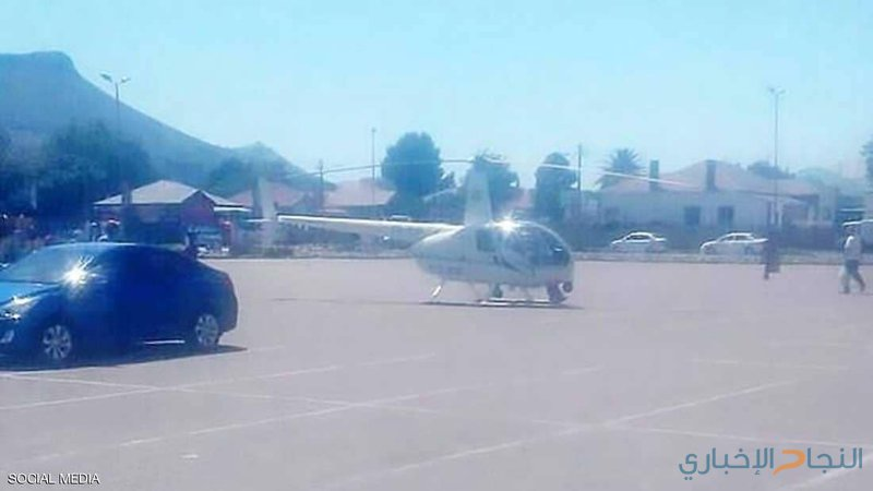 """""""ضابط شرطة"""" يهبط بمروحيته لشراء وجبة من """"KFC"""" !"""