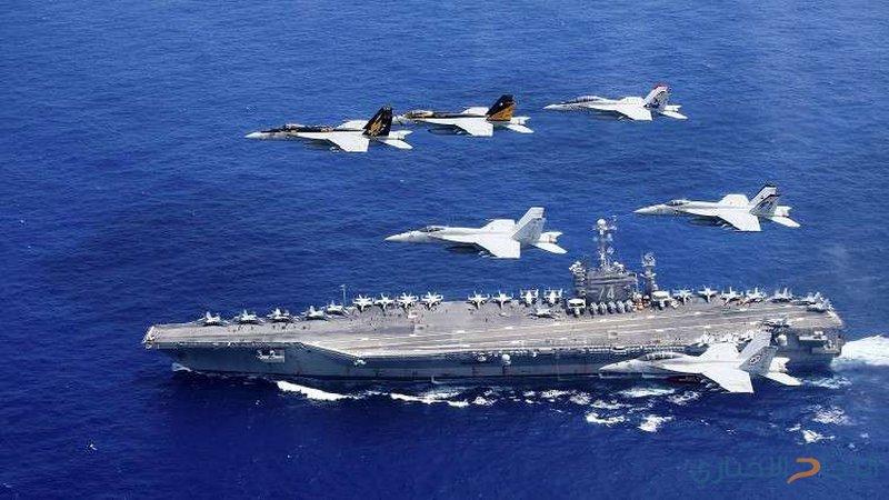 واشنطن ترسل سفنا حربية وحاملة طائرات إلى الخليج