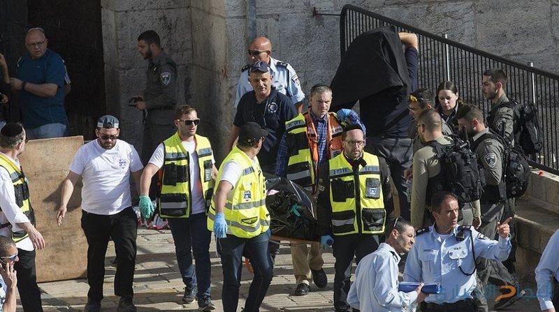 """اعتقال سيدة بحجة طعنها حارس أمن بالقدس المحتلة """"فيديو"""""""