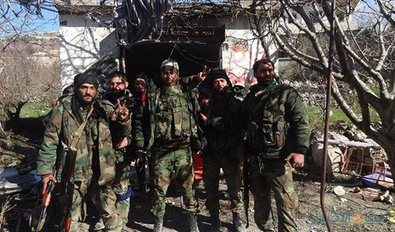 مقتل ضابط سوري وإصابة 8 عسكريين بصواريخ أميركية