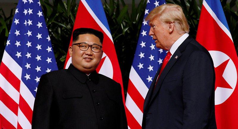 كوريا الشمالية تدرس تعليق المحادثات النووية مع الولايات المتحدة