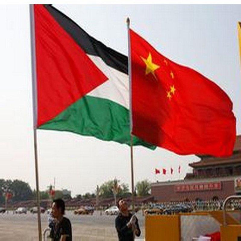 شامية يضع السفير الصيني بصورة آخر التطورات وانتهاكات الاحتلال