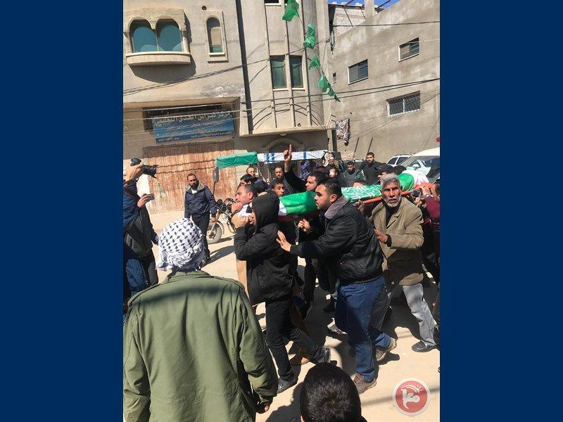 غزة تشيّع جثمان الشهيد أبو زيد