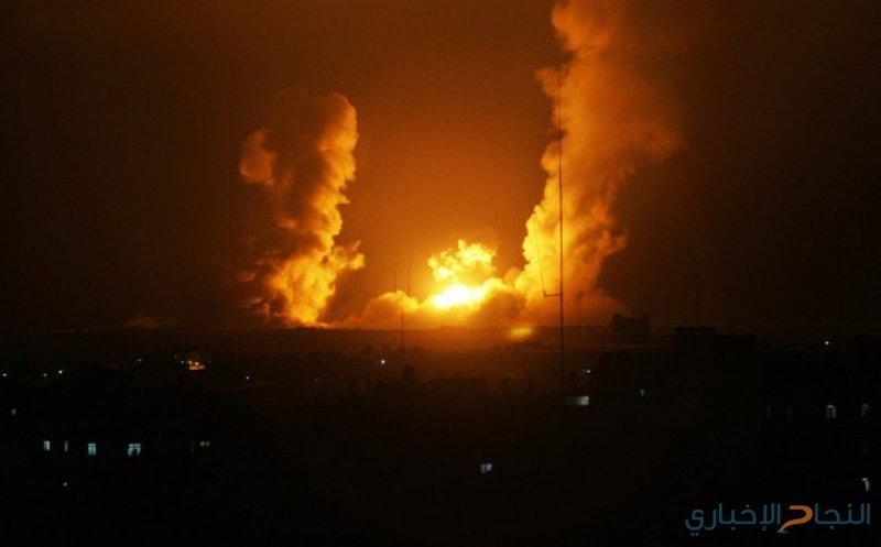 طيران الاحتلال يقصف أهدافًا متفرقة في قطاع غزة