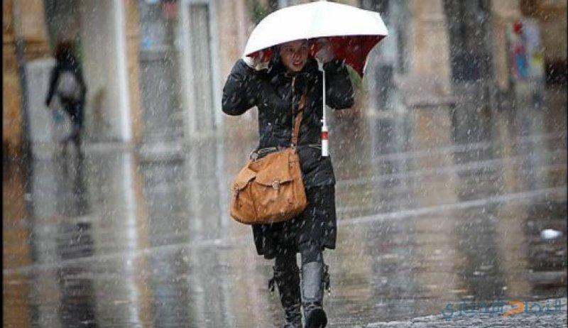 46f95ad62 توقعات الأرصاد الجوية لطقس فلسطين غدا الخميس والليلة