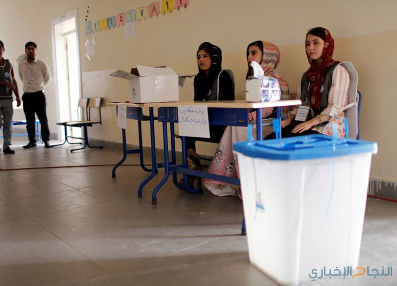 بدء التصويت في انتخابات برلمان إقليم كردستان