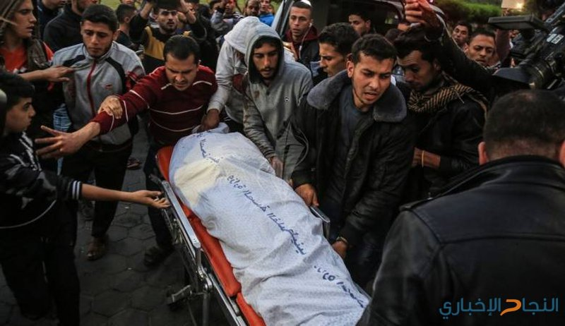 شهيد واصابات برصاص الاحتلال في قطاع غزة