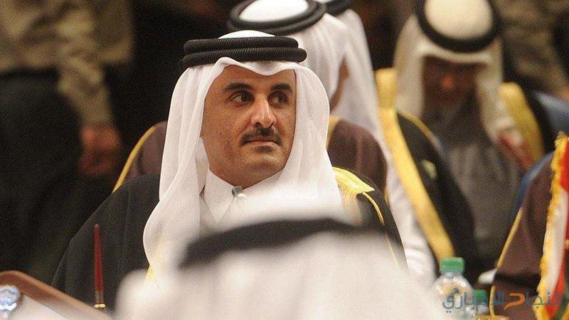 أمير قطر يتلقى دعوةرسمية لحضور قمة التعاون بالرياض