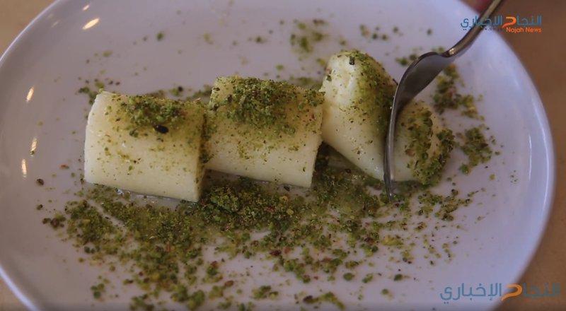 حلاوة الجبن تتربع على عرش الحلويات الباردة في نابلس (فيديو)