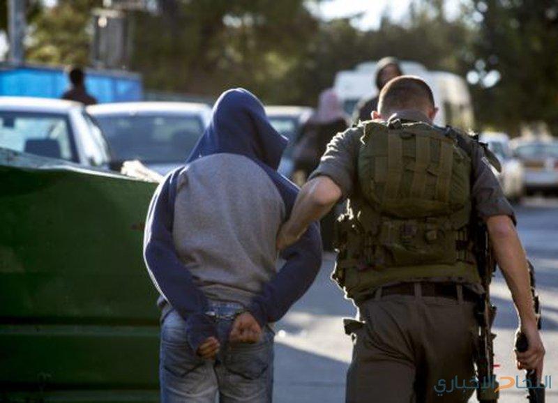 الاحتلال يعتقل عددا من  المشاركين في وقفة تضامنية