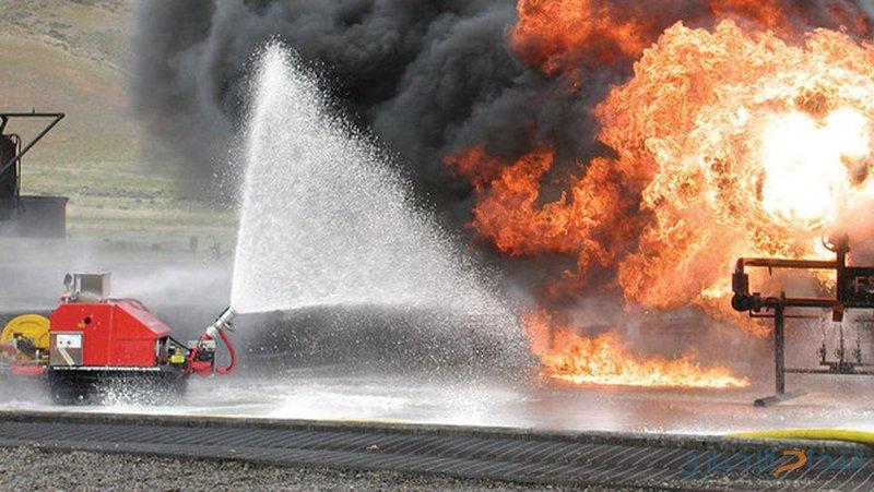 طلاب أتراك يطورون روبوت لإطفاء الحرائق