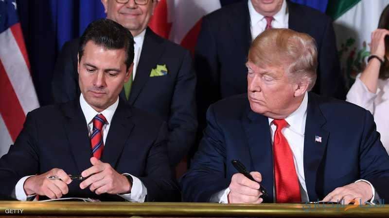 """أميركا وكندا والمكسيك.. اتفاق جديد بديلا لـ""""النافت"""