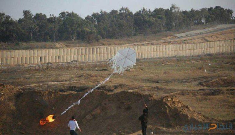 مخاوف اسرائيلية من انتشار البالونات الحارقة بالضفة