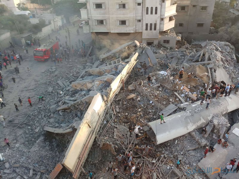 حماس: تعمد الاحتلال قصف المراكز الثقافية سلوك همجي