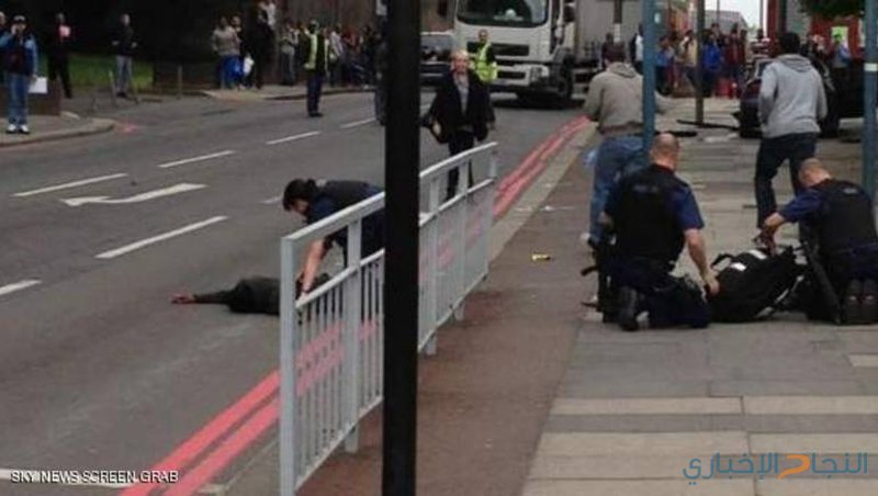 تعرض رجل لهجوم طعن بساطور في العاصمة البريطانية