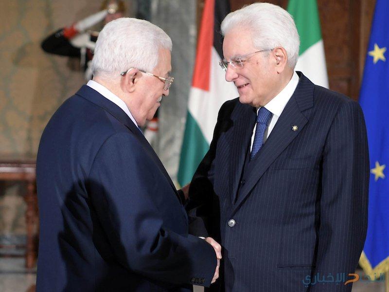 الرئيس يلتقي نظيره الايطالي