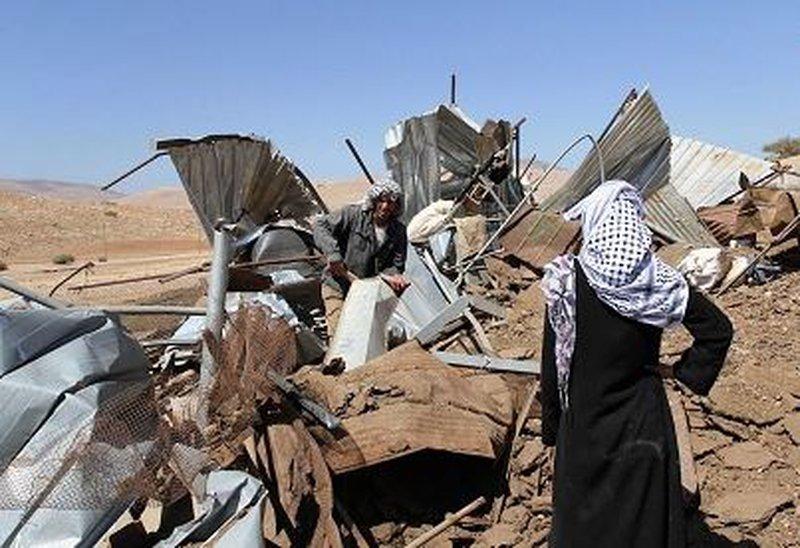الجرافات الإسرائيلية تهدم مساكن قرية العراقيب في النقب للمرة 141