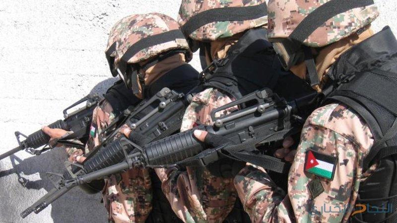 الجيش الأردني يقتل 4 حاولوا التسلل عبر الحدود