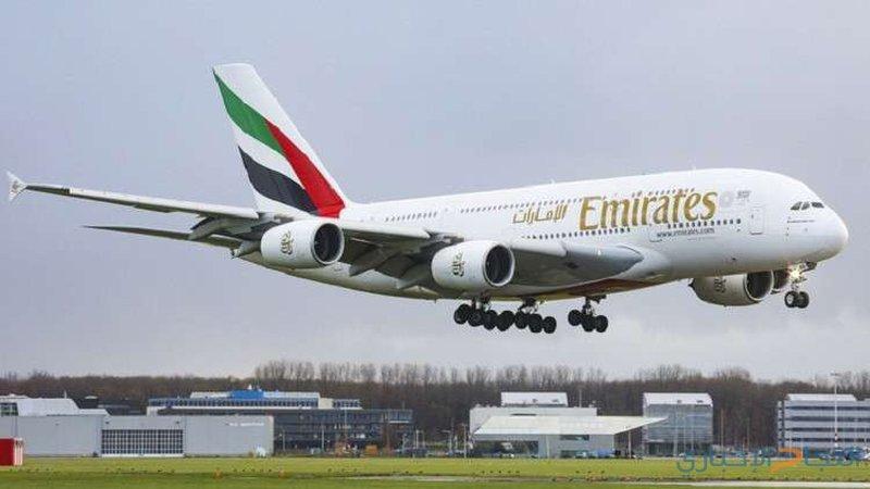 مطار بطرسبورغ يستقبل أضخم طائرة ركاب في العالم
