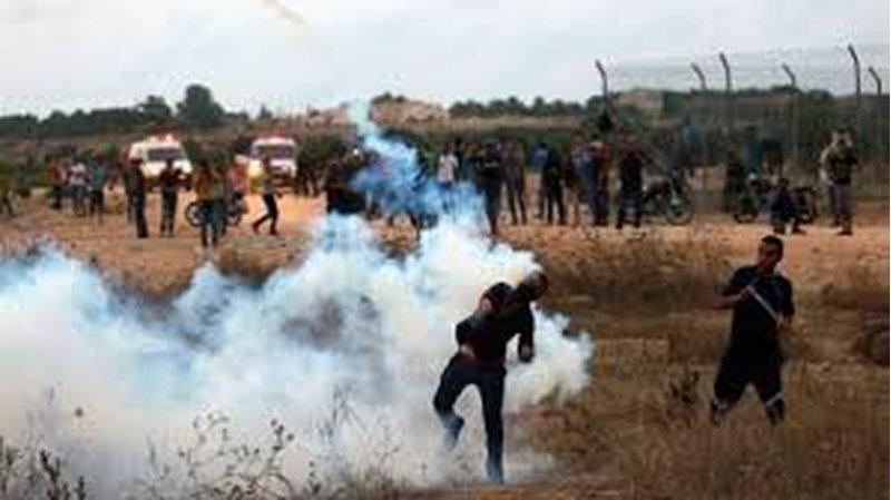 إصابة شاب برصاص الاحتلال شرق مدينة غزة