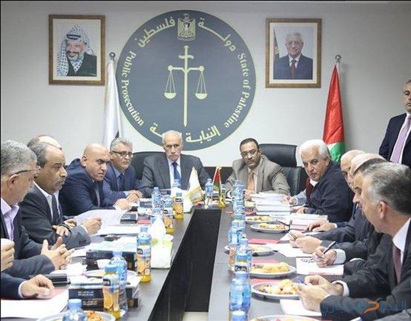 افتتاح اجتماع لمجلس المحافظين في رام الله