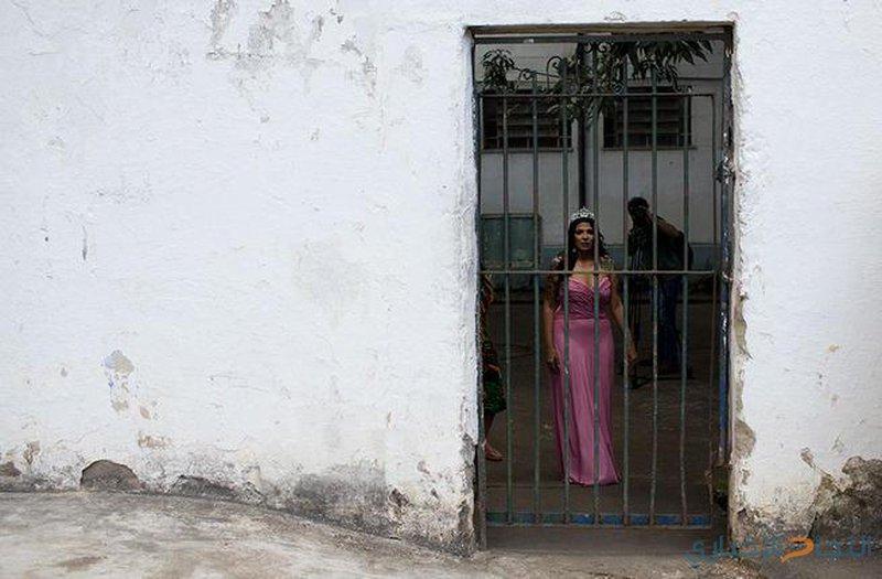 """""""قاتلة"""".. تتوج بلقب ملكة جمال السجون في البرازيل!"""