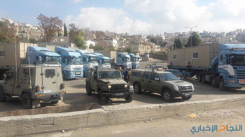 الاحتلال يضع كرفانات في ساحة الحرم الإبراهيمي