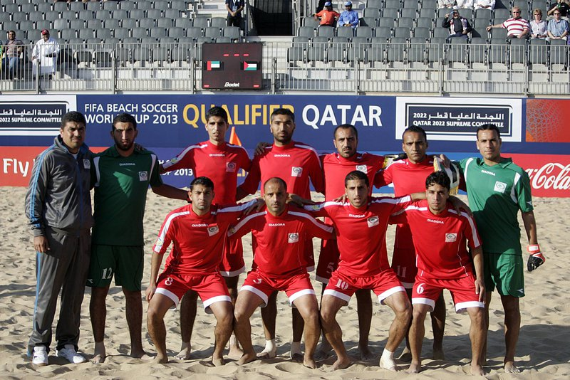منتخبنا الوطني للكرة الشاطئية يتأهل لدور الثمانية في بطولة أمم آس