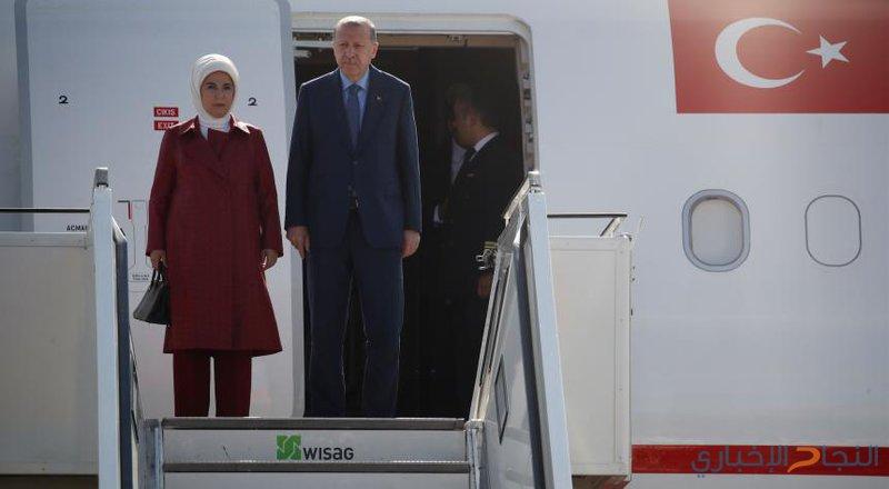 اردوغان في ألمانيا لمحاولة تسوية الخلاف