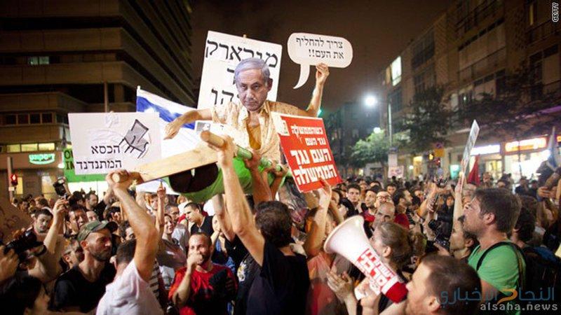 """مستوطنو""""غلاف غزة""""يقررون الإحتجاج ضد حكومة الاحتلال"""