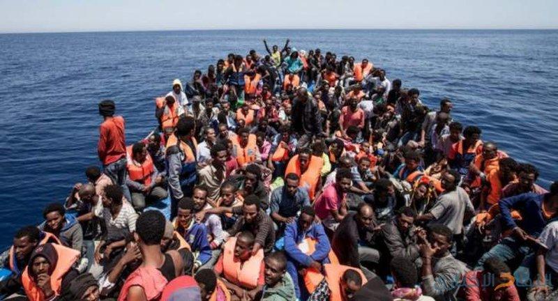 انتشال 47 مهاجرا غير شرعي قبالة السواحل الليبية