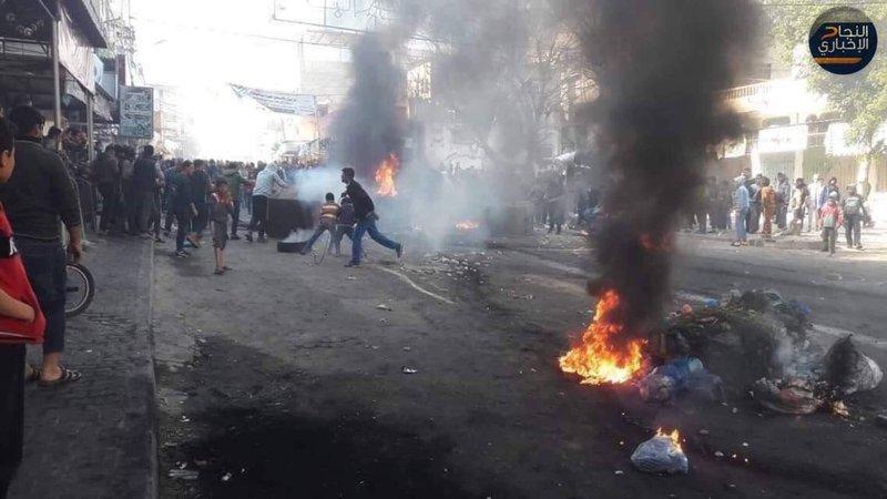 تنديد شعبي واسع لقمع التظاهرات من قبل أمن حماس في غزة