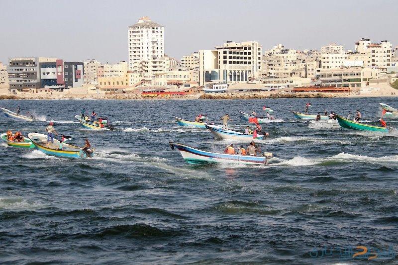 غداً.. انطلاق المسير البحري الـ15 في غزة