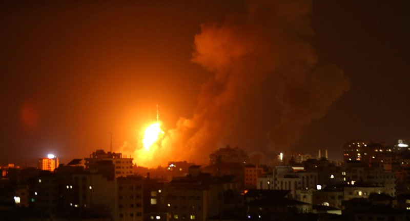 قصف إسرائيلي على قطاع غزة