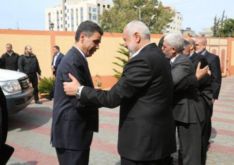 الوفد الامني المصري يصل غزة