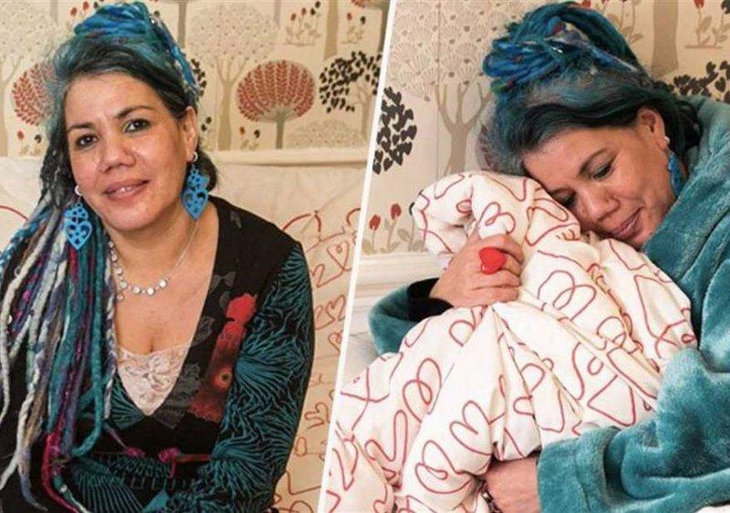 سيدة بريطانية تعقد قرانها على بطانية !