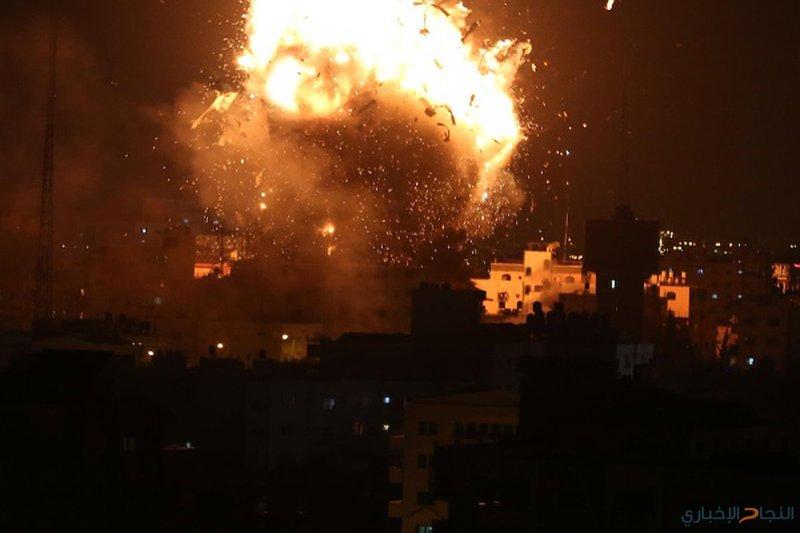 الاحتلال يُنفّذ غارات وهمية في الاجواء الغربية لقطاع غزة