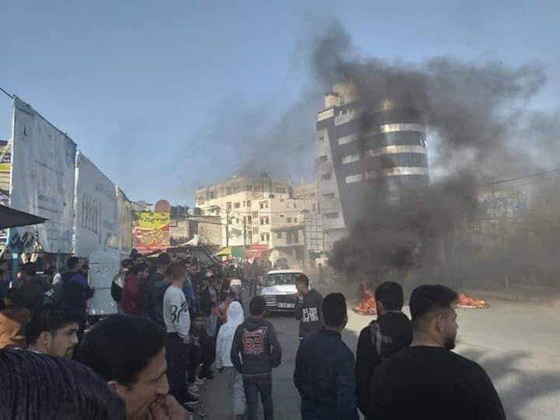 الديمقراطية تدعو حماس لوقف قمع ومطاردة المواطنين