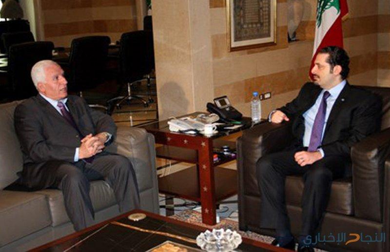 الأحمد يلتقي الحريري لتعزيز وحدة الموقف العربي