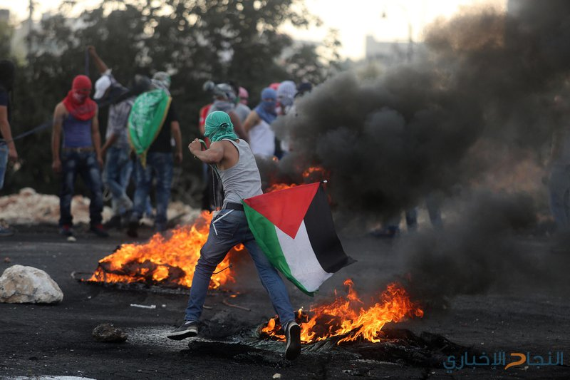 إصابات إثر قمع قوات الاحتلال مسيرة سلمية شمالي البيرة