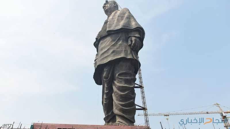 الأربعاء.. الافتتاح الرسمي لأطول تمثال على الأرض