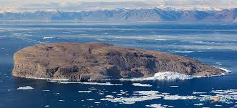 اكتشاف جزيرة جديدة في المحيط المتجمد الشمالي