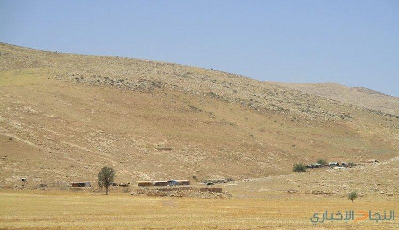 """الاحتلال يعلن """"خلة حمد"""" منطقة عسكرية مغلقة"""